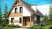 Проект дачного будинку 6х8 з піноблоків