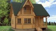 Будівництво дачних будинків з Бруса