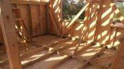 Будівництво Каркасного дачні будиночки Своїми Руками